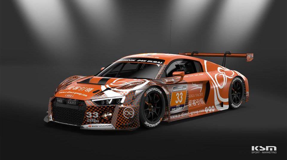 HANKOOK 24H DUBAI: Zwei Audi R8 LMS für Car Collection Motorsport am Start!
