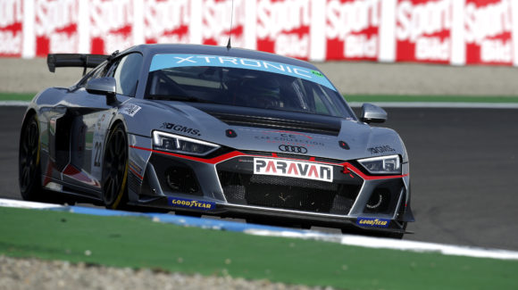 EN: Car Collection Motorsport with two Audi R8 LMS GT4 at the start!